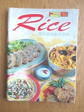 Cook Book RICE Recipes Cookery Cooking Main Course Australian Womens Weekly