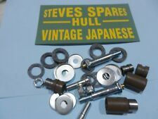 HONDA C50/70/90&CUBS,FRONT FORK ARMS LINKAGE BUSH REPAIR KIT+ grease nipples.