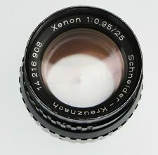 Schneider 25mm f0.95 Xenon C mount  #14216908