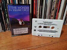 Stevie Wonder ♫ In a Square Circle ♫ Rare 1985 Original Tamla US Cassette Tape