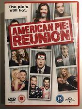 SEANN WILLIAM SCOTT AMERICAN PIE 4: Reunión ~ 2012 Comedia GB DVD
