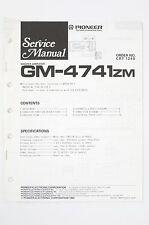PIONEER GM-4741ZM Original Woofer Amplifier Service-Manual/Schaltplan/Diagram 97