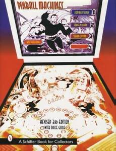 Vintage Pinball Machine Collector Guide 3rd Ed Bally Gottlieb Williams & More