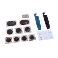 Portable Bike Tire Tyre Puncture Repair Kit Sticker Repair Maintenance Tool