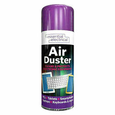 More details for compressed air duster spray can cleans protects laptops keyboards  200ml
