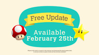 Animal Crossing New Horizons - Mario Update 1.8 Alle Gegenstände - Vorbestellung