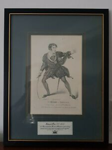 A Collectable Framed Vintage RSC Shakespeare Print Hamlet of Mr Kean