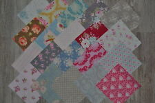 Lot de 20 coupons de tissu patchwork TILDA