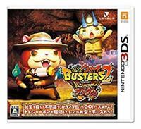 NINTENDO 3DS Yo-kai Watch Busters 2 Hihou Densetsu Banbaraya Magnum JAPANESE