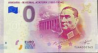 BILLET 0  EURO  ANKARA M.KEMAL ATATURK (1881-193°°) TURQUIE 2019 N° SUITE 363