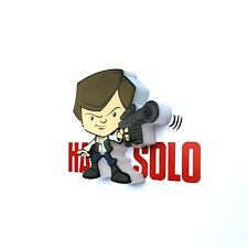 Star Wars Han Solo 3D Led Lampe Murale Chambre Enfants Éclairage Officiel