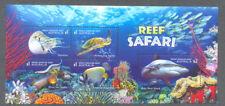 Australia-Reef Safari Aug.2018-min sheet mnh-Sharks-Fish