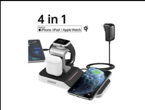 Choetech 4 in 1 Apple MFI Certified Wireless Charging Station.