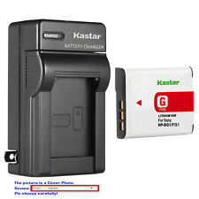 Kastar Battery Wall Charger for Sony NP-BG1 NP-FG1 Sony Cyber-shot DSC-H9 Camera