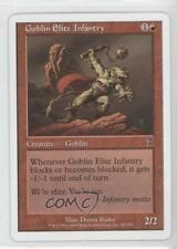 2001 Magic: The Gathering - Core Set: 7th Edition #187 Goblin Elite Infantry 1g9