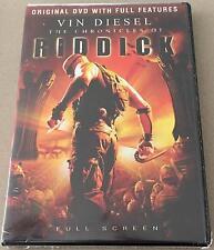 Chronicles Of Riddick DVD Brand New Sealed Region 3 Vin Diesel