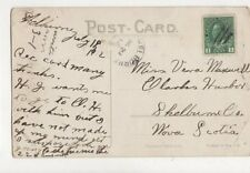Miss Vera Maxwell Clarks Harbor Shelburne County Nova Scotia Canada 1912  762a