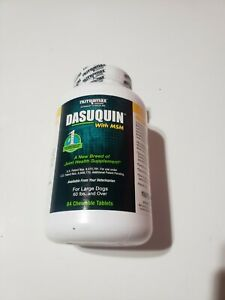 Dasuquin MSM Chewable Tablets for Large Dogs (Pack of 84) Ex:11/2024