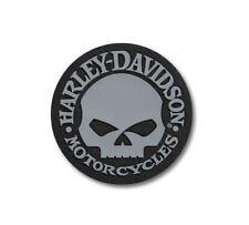 Harley-Davidson Motorcycles Willie G Skull Logo Iron-on Patch 97660-21vx