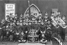 rp14622 - Salvation Army Band - unknown location - photo 6x4
