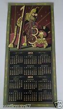SDCC Comic Con 2013 EXCLUSIVE Futurama Dual sided Door Calendar BENDER