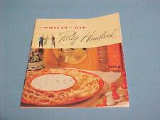 VINTAGE PHILLY DIP PARTY HANDBOOK RECIPE BOOKLET PHILADELPHIA CREAM CHEESE