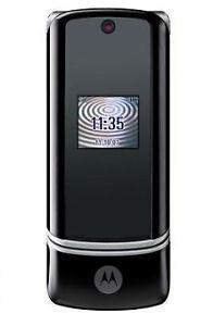 Motorola MOTO Krzr k1 Black Unlocked Motorola flip Pristine **6 Month Warranty**