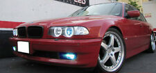 DEPO 1999-2001 BMW E38 UHP LED ANGEL HALO HEADLIGHT + XENON HID + AUTO-LEVELING