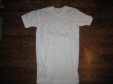 tshirt, us army white usa made,  100% cotton xsmall,round neck