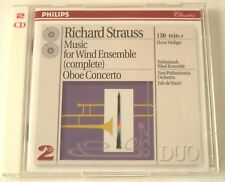Strauss Music For Wind Ensemble; Oboe Concerto 2 CD