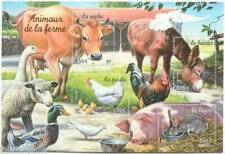 STAMP / TIMBRE FRANCE NEUF BLOC N°  69 ** FAUNE / ANIMAUX DE LA FERME