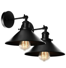 Xiding Lighting 2 Pack Black Wall Sconce Lamps!