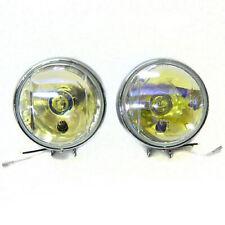 2x Yellow Fog Spot Lights Lamps E-Marked For Mercedes Benz S Cass W220 W221 W222