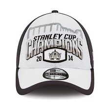 Los Angeles LA Kings 2014 Stanley Cup Champions Locker Room New Era Flex Cap Hat