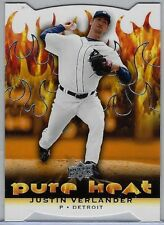 2010 Upper Deck Die Cut #PH-9 Justin Verlander NM/MT Detroit Hot, Look!