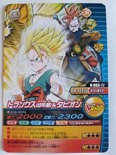 Carte Dragon Ball Z DBZ Data Carddass W Bakuretsu Impact Part SP #V-003-IV Promo