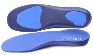 2 pairs Pro11 BL Orthotic Insoles  Back & heel Pain treatment Plantar fasciitis