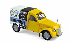 "Norev Citröen 2CV FOURGONNETTE Year 1956 "" Assistance BERLIET "" Yellow, 1:18"