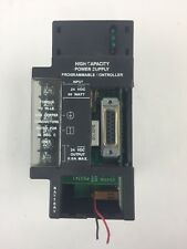 GE IC693PWR331D POWER SUPPLY 24VDC HI-CAP 30W MISSING BATTERY/PLASTIC COVER