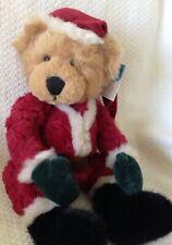 "Russ Kris Christmas Holiday Teddy Bear Plush Santa Claus Stuffed Animal 16"""