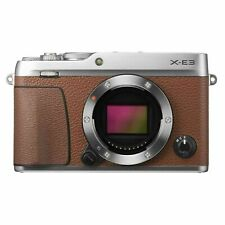 Brand New Fujifilm X-E3 Mirrorless Digital Camera Brown Body Only(special price)