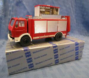 Conrad #3090, Mercedes Rosenbauer RFC-11 Fire Engine, 1/50 scale