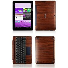 Skinomi Dark Wood Skin+Screen Protector for Asus Transformer Pad TF300+Keyboard