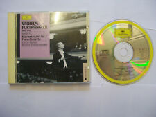 FURTWÄNGLER/BRAHMS/FISCHER: Klavierkonzert No. 2 1989 EU CD REMASTERED – BARGAIN