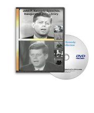 JFK John F Kennedy Speeches Inauguration Medicare NASA Tax Cuts Etc Films A53