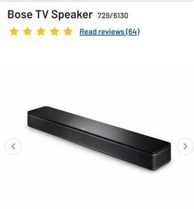 Bose TV Speaker / Sound Bar Brand New In Box / Unopened