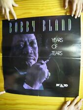 Bobby Bland Poster Years Of Tears Blue