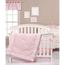Trend Lab 100796 Pink Sky 3 Piece Crib Bedding Set NEW