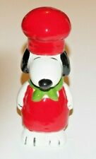 Pie Bird Snoopy Ready to Cook For Christmas Red & Green Piebird USA Made