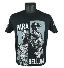 BRAVO COMPANY  T-SHIRT, SHORT SLEEVE, PARA BELLUM, COLOR BLACK